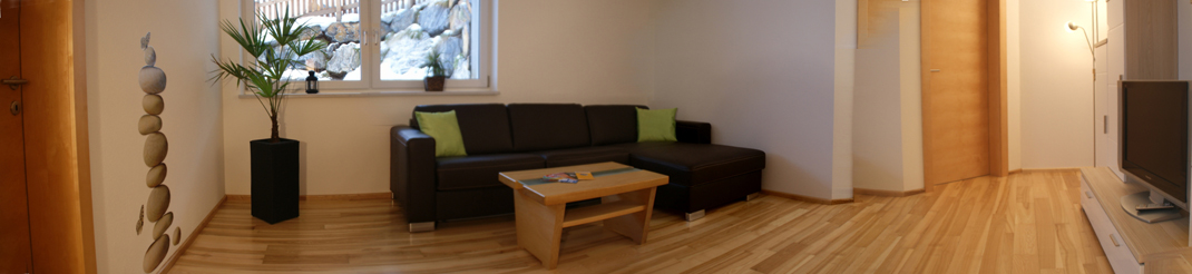 Ferienwohnung salzburgerland appartement gruber michael for Wohnzimmerschrank mit bettfunktion